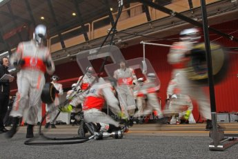 © 2012 Octane Photographic Ltd. Barcelona Winter Test 2 Day 2 - Friday 2nd March 2012. McLaren Practice pit stops. Digital Ref :