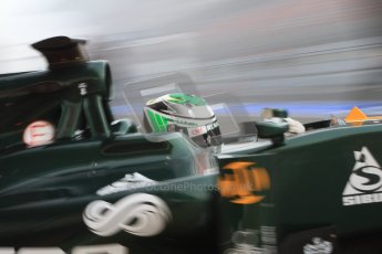 © 2012 Octane Photographic Ltd. Barcelona Winter Test 2 Day 2 - Friday 2nd March 2012. Caterham CT01 - Heikki Kovalainen. Digital Ref :