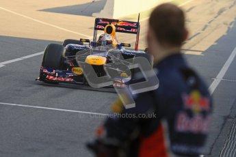 © 2012 Octane Photographic Ltd. Barcelona Winter Test 2 Day 2 - Friday 2nd March 2012. Red Bull RB8 - Sebastian Vettel. Digital Ref :
