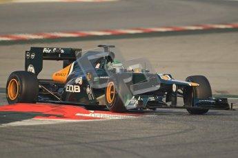 © 2012 Octane Photographic Ltd. Barcelona Winter Test 2 Day 3 - Saturday 3rd March 2012. Caterham CT01 - Heikki Kovalainen. Digital Ref : 0233cb7d9043