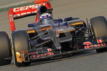 © 2012 Octane Photographic Ltd. Barcelona Winter Test 2 Day 3 - Saturday 3rd March 2012. Toro Rosso STR7 - Daniel Ricciardo. Digital Ref : 0233cb7d9295