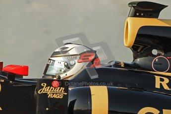 © 2012 Octane Photographic Ltd. Barcelona Winter Test 2 Day 3 - Saturday 3rd March 2012. Lotus E20 - Kimi Raikkonen. Digital Ref : 0233cb7d9337