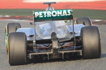 © 2012 Octane Photographic Ltd. Barcelona Winter Test Day 3 - Saturday 3rd March 2012. Mercedes W03 - Nico Rosberg. Digital Ref : 0233cb7d9589