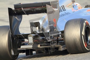 © 2012 Octane Photographic Ltd. Barcelona Winter Test 2 Day 3 - Saturday 3rd March 2012. McLaren MP4/27 - Jenson Button. Digital Ref : 0233cb7d9624