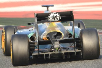 © 2012 Octane Photographic Ltd. Barcelona Winter Test 2 Day 3 - Saturday 3rd March 2012. Caterham CT01 - Heikki Kovalainen. Digital Ref : 0233cb7d9727