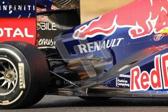 © 2012 Octane Photographic Ltd. Barcelona Winter Test 2 Day 3 - Saturday 3rd March 2012. Red Bull RB8 - Mark Webber. Digital Ref : 0233cb7d9872