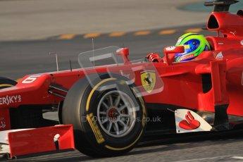 © 2012 Octane Photographic Ltd. Barcelona Winter Test 2 Day 3 - Saturday 3rd March 2012. Ferrari F2012 - Felipe Massa. Digital Ref : 0233lw7d2581