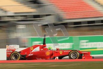 © 2012 Octane Photographic Ltd. Barcelona Winter Test 2 Day 3 - Saturday 3rd March 2012. Ferrari F2012 - Felipe Massa. Digital Ref : 0233lw7d3252