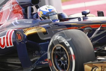 © 2012 Octane Photographic Ltd. Barcelona Winter Test 2 Day 4 - Sunday 4th March 2012. Toro Rosso STR7 - Daniel Ricciardo. Digital Ref : 0234cb1d2837