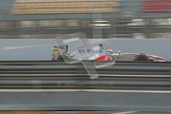 © 2012 Octane Photographic Ltd. Barcelona Winter Test 2 Day 4 - Sunday 4th March 2012. McLaren MP4/27 - Lewis Hamilton. Digital Ref : 0234cb1d2936