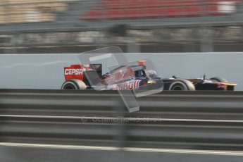 © 2012 Octane Photographic Ltd. Barcelona Winter Test 2 Day 4 - Sunday 4th March 2012. Toro Rosso STR7 - Daniel Ricciardo. Digital Ref :  0234cb1d2963