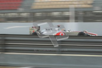 © 2012 Octane Photographic Ltd. Barcelona Winter Test 2 Day 4 - Sunday 4th March 2012. McLaren MP4/27 - Lewis Hamilton. Digital Ref : 0234cb1d2984