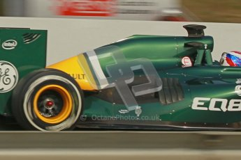 © 2012 Octane Photographic Ltd. Barcelona Winter Test 2 Day 4 - Sunday 4th March 2012. Caterham CT01 - Vitaly Petrov. Digital Ref : 0234cb1d3173