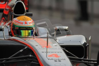 © 2012 Octane Photographic Ltd. Barcelona Winter Test 2 Day 4 - Sunday 4th March 2012. McLaren MP4/27 - Lewis Hamilton. Digital Ref : 0234cb7d0014