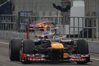© 2012 Octane Photographic Ltd. Barcelona Winter Test 2 Day 4 - Sunday 4th March 2012. Red Bull RB8 - Sebastian Vettel. Digital Ref : 0234lw7d3998