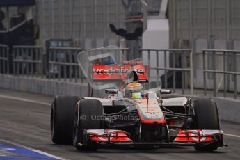 © 2012 Octane Photographic Ltd. Barcelona Winter Test 2 Day 4 - Sunday 4th March 2012. McLaren MP4/27 - Lewis Hamilton. Digital Ref : 0234lw7d4023