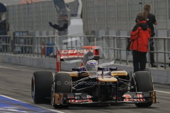 © 2012 Octane Photographic Ltd. Barcelona Winter Test 2 Day 4 - Sunday 4th March 2012. Toro Rosso STR7 - Daniel Ricciardo. Digital Ref : 0234lw7d4108