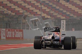 © 2012 Octane Photographic Ltd. Barcelona Winter Test 2 Day 4 - Sunday 4th March 2012. Red Bull RB8 - Sebastian Vettel. Digital Ref : 0234lw7d4195