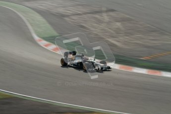 © 2012 Octane Photographic Ltd. Barcelona Winter Test 2 Day 4 - Sunday 4th March 2012. Caterham CT01 - Vitaly Petrov. Digital Ref : 0234lw7d4747