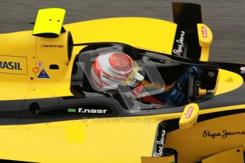 © Octane Photographic Ltd. GP2 Winter testing Barcelona Day 1, Tuesday 6th March 2012. DAMS, Felipe Nasr. Digital Ref :