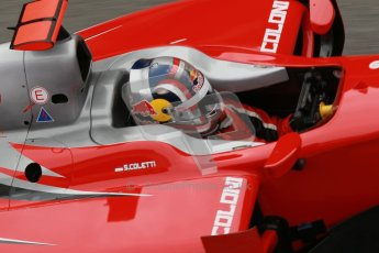 © Octane Photographic Ltd. GP2 Winter testing Barcelona Day 1, Tuesday 6th March 2012. Scuderia Coloni, Stefano Coletti. Digital Ref :
