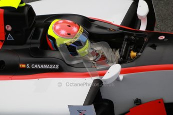 © Octane Photographic Ltd. GP2 Winter testing Barcelona Day 1, Tuesday 6th March 2012. Rapax, Sergio Canamasas. Digital Ref :