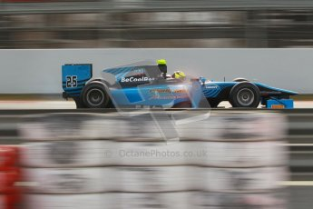 © Octane Photographic Ltd. GP2 Winter testing Barcelona Day 1, Tuesday 6th March 2012. Ocean Racing technology, Nigel Melker. Digital Ref :