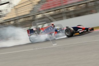 © Octane Photographic Ltd. GP2 Winter testing Barcelona Day 1, Tuesday 6th March 2012. iSport International, Marcus Ericsson. Digital Ref : 0235cb1d3762