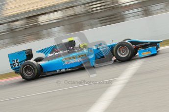 © Octane Photographic Ltd. GP2 Winter testing Barcelona Day 1, Tuesday 6th March 2012. Ocean Racing technology, Nigel Melker. Digital Ref : 0235cb1d3817