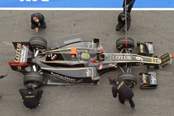 © Octane Photographic Ltd. GP2 Winter testing Barcelona Day 1, Tuesday 6th March 2012. Lotus GP, James Calado, Racing Steps. Digital Ref : 0235cb7d0131