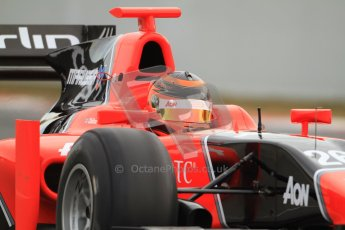 © Octane Photographic Ltd. GP2 Winter testing Barcelona Day 1, Tuesday 6th March 2012. Marussia Carlin, Max Chilton. Digital Ref : 0235cb7d0235