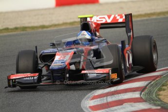 © Octane Photographic Ltd. GP2 Winter testing Barcelona Day 1, Tuesday 6th March 2012. iSport International, Jolyon Palmer. Digital Ref : 0235cb7d0428