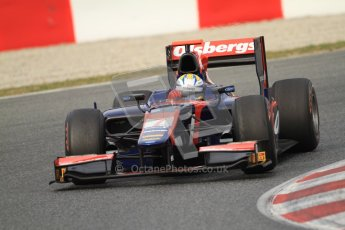 © Octane Photographic Ltd. GP2 Winter testing Barcelona Day 1, Tuesday 6th March 2012. iSport International, Marcus Ericsson. Digital Ref : 0235cb7d0516
