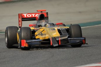 © Octane Photographic Ltd. GP2 Winter testing Barcelona Day 1, Tuesday 6th March 2012. DAMS, Davide Valsecchi. Digital Ref : 0235cb7d0759