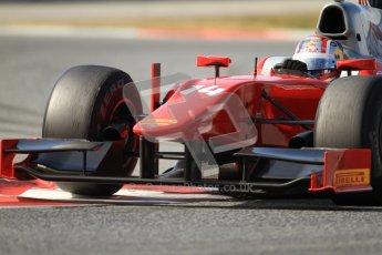 © Octane Photographic Ltd. GP2 Winter testing Barcelona Day 1, Tuesday 6th March 2012. Scuderia Coloni, Stefano Coletti. Digital Ref : 0235cb7d1047
