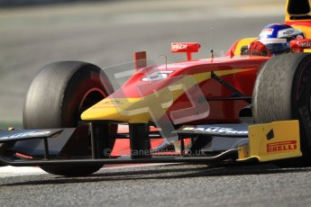 © Octane Photographic Ltd. GP2 Winter testing Barcelona Day 1, Tuesday 6th March 2012. Racing Engineering, Fabio Leimer. Digital Ref : 0235cb7d1089