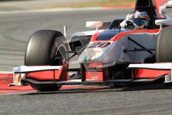 © Octane Photographic Ltd. GP2 Winter testing Barcelona Day 1, Tuesday 6th March 2012. Rapax, Ricardo Teixeira. Digital Ref : 0235cb7d1159