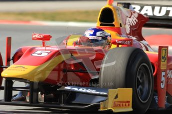 © Octane Photographic Ltd. GP2 Winter testing Barcelona Day 1, Tuesday 6th March 2012. Racing Engineering, Fabio Leimer. Digital Ref : 0235cb7d1190