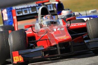 © Octane Photographic Ltd. GP2 Winter testing Barcelona Day 1, Tuesday 6th March 2012. Scuderia Coloni, Stefano Coletti. Digital Ref : 0235cb7d1338