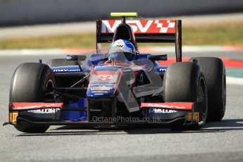 © Octane Photographic Ltd. GP2 Winter testing Barcelona Day 1, Tuesday 6th March 2012. iSport International, Jolyon Palmer. Digital Ref : 0235cb7d1361