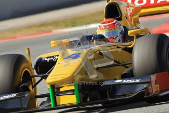 © Octane Photographic Ltd. GP2 Winter testing Barcelona Day 1, Tuesday 6th March 2012. DAMS, Felipe Nasr. Digital Ref : 0235cb7d1604