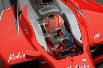 © Octane Photographic Ltd. GP2 Winter testing Barcelona Day 1, Tuesday 6th March 2012. Scuderia Coloni, Fabio Onidi. Digital Ref : 0235lw7d5159