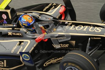 © Octane Photographic Ltd. GP2 Winter testing Barcelona Day 1, Tuesday 6th March 2012. Lotus GP, Esteban Gutierrez. Digital Ref : 0235lw7d5345