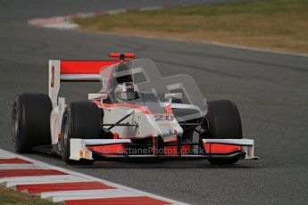 © Octane Photographic Ltd. GP2 Winter testing Barcelona Day 1, Tuesday 6th March 2012. Rapax, Ricardo Teixeira. Digital Ref : 0235lw7d5522