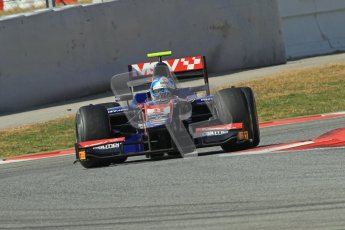 © Octane Photographic Ltd. GP2 Winter testing Barcelona Day 1, Tuesday 6th March 2012. iSport International, Jolyon Palmer. Digital Ref : 0235lw7d7421