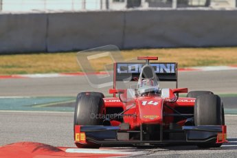 © Octane Photographic Ltd. GP2 Winter testing Barcelona Day 1, Tuesday 6th March 2012. Scuderia Coloni, Stefano Coletti. Digital Ref : 0235lw7d7438