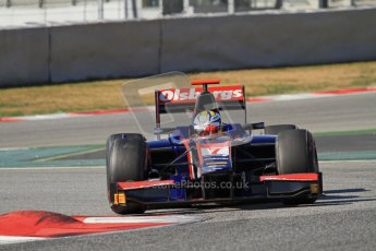 © Octane Photographic Ltd. GP2 Winter testing Barcelona Day 1, Tuesday 6th March 2012. iSport International, Marcus Ericsson. Digital Ref : 0235lw7d7682
