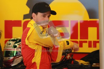 © Octane Photographic Ltd. GP2 Winter testing Barcelona Day 2, Wednesday 7th March 2012. Racing Engineering, Fabio Leimer. Digital Ref : 0236cb1d4102
