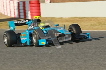 © Octane Photographic Ltd. GP2 Winter testing Barcelona Day 2, Wednesday 7th March 2012. Ocean Racing technology, Nigel Melker. Digital Ref : 0236cb1d4188