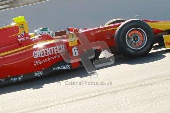 © Octane Photographic Ltd. GP2 Winter testing Barcelona Day 2, Wednesday 7th March 2012. Racing Engineering, Nathanael Berthon. Digital Ref : 0236cb1d4426